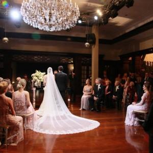 Casamento realizado no Graciosa Country Clube em Curitiba .